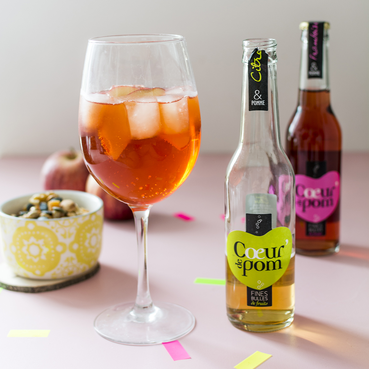 Cocktail Spritz Coeur de Pom