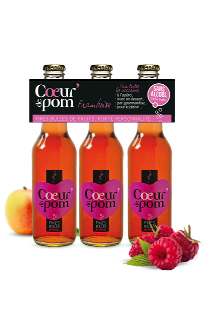 Fines Bulles de Fruits Framboise - 3 X 27.5cl