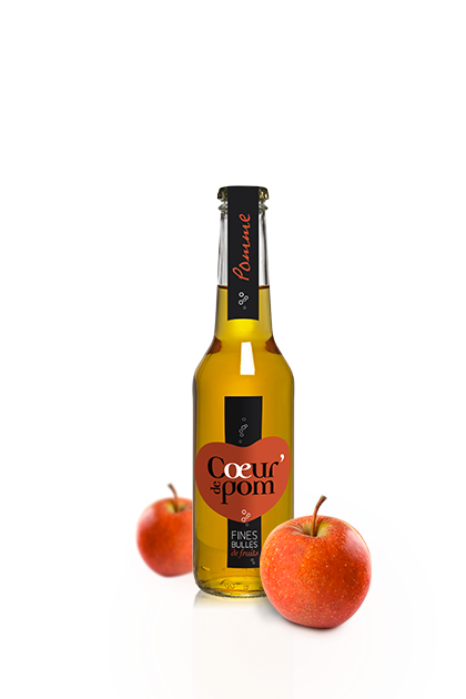 Fines Bulles de Fruits Pommes - 27.5cl