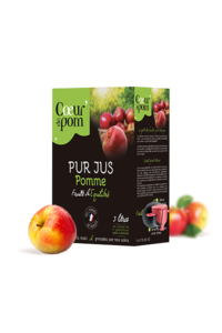 Pur jus de Pommes Naturel en Bag In Box 3 L