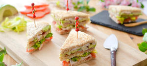 Club sandwich poulet avocat