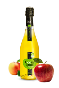 Fines Bulles de Fruits Pomme bio 75 cl