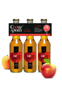 Fines Bulles de Fruits Pommes 3 x 27,5 cl