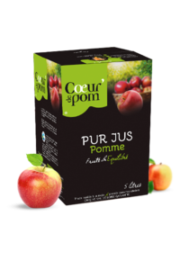 Copie de Pur jus de Pommes Bag In Box 5L